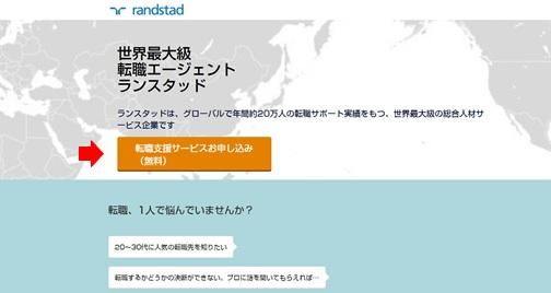 ランスタッド・WEB登録