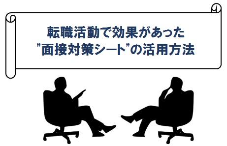 面接対策シート活用方法