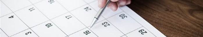 スケジュール調整・面談日程の調整